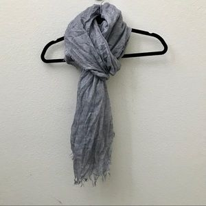 NEW JCREW chambray tissue scarf